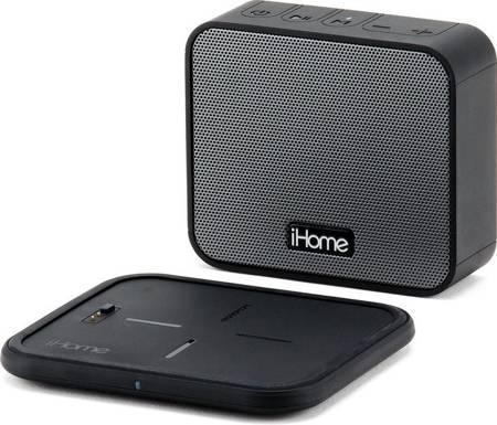 iHome iBTW88 - przenośny głośnik Bluetooth + stacja ładowania indukcyjnego